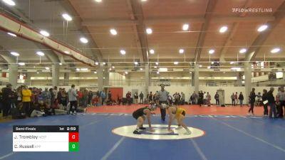 Semifinal - Jarrett Trombley, NC State vs Codi Russell, Appalachian State