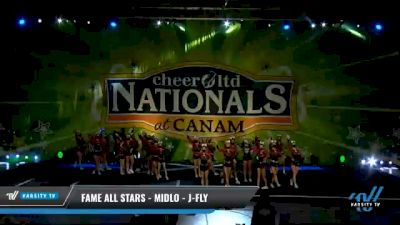 FAME All Stars - Midlo - J-Fly [2021 L6 Junior Coed Day 1] 2021 Cheer Ltd Nationals at CANAM