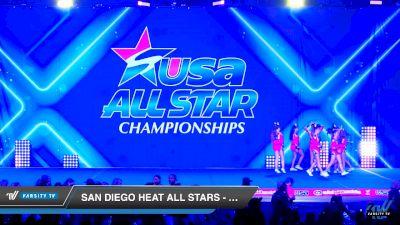 San Diego Heat All Stars - Lady Obsession [2019 Senior - D2 2 Day 1] 2019 USA All Star Championships