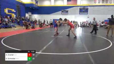 182 lbs 5th Place - Aaron Cramer, Izzy Style 1 vs Sam Schwabe, Askren3