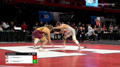 174 lbs Consolation - Kaleb Romero, Ohio State vs Devin Skatzka, Minnesota