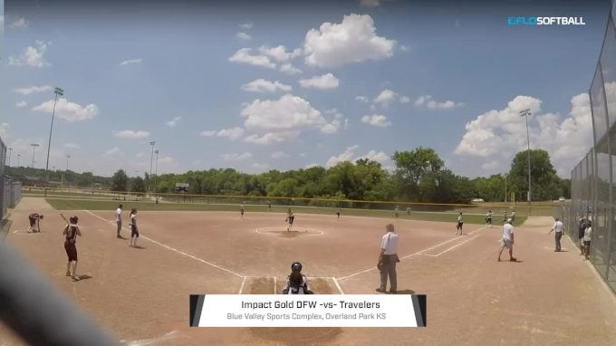 Impact Gold DFW vs Travelers at 2018 USSSA World Fastpitch