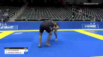 STEVEN LEE FLANAGAN vs JEFFIE JACKSON HORN JR. 2021 World IBJJF Jiu-Jitsu No-Gi Championship