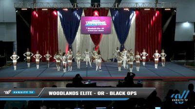 Woodlands Elite - OR - Black Ops [2021 L6 Senior Coed - Medium Day 2] 2021 The American Spectacular DI & DII