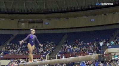 Sarah Finnegan - Beam, LSU - Metroplex Challenge (NCAA)