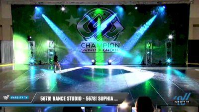 5678! Dance Studio - 5678! Sophia Block [2021 Junior - Solo - Jazz Day 1] 2021 CSG Dance Nationals