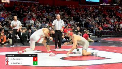 174 lbs Consolation - Kaleb Romero, Ohio State vs Joey Gunther, Illinois