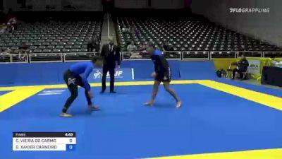 CAROLINA VIEIRA DO CARMO MASSOT vs GIOVANNA XAVIER CARNEIRO 2021 World IBJJF Jiu-Jitsu No-Gi Championship