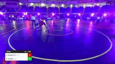 145 lbs Round Of 32 - Christopher Cayard Jr., Matrix Wrestling vs Alexander Husen, Bear Cave