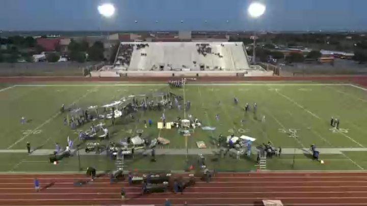"""Burleson Centennial High School """"Burleson TX"""" at 2021 USBands Saginaw Regional"""