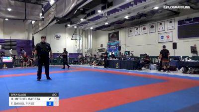 DENIS MITCHEL BATISTA PINTO vs FRANCISCO DANIEL PIRES TAVERAS 2019 Pan IBJJF Jiu-Jitsu No-Gi Championship