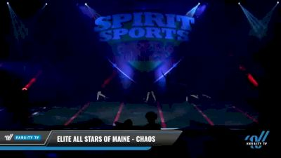 Elite All Stars of Maine - Chaos [2021 L2 Junior - D2 - Small - A Day 1] 2021 Spirit Sports: Battle at the Beach
