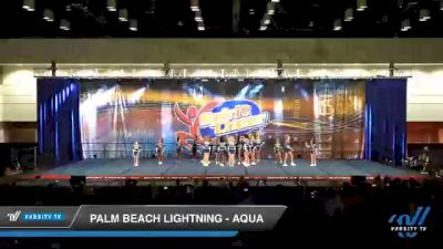 Palm Beach Lightning - AQUA [2020 L3 Youth Day 2] 2020 All American DI & DII Nationals