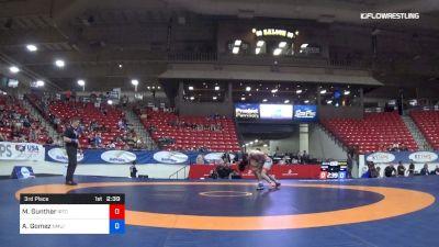 63 kg 3rd Place - Michael Gunther, IRTC vs Adrian Gomez, NMU/OTS