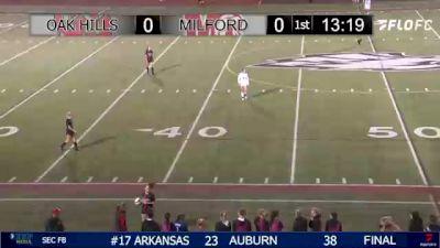 Replay: Milford vs Oak Hills | Oct 16 @ 7 PM