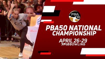 Full Replay: Lanes 21-22 - PBA50 National Championship - Match Play Round 2