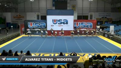 Alvarez Titans - Midgets [2021 L1 Performance Recreation - 14 and Younger (AFF) Day 1] 2021 USA Reach the Beach Spirit Competition