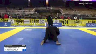 WILLIAM ALBERT SPOTT 4TH vs SERGIO TORRUELLAS JR 2021 Pan Jiu-Jitsu IBJJF Championship