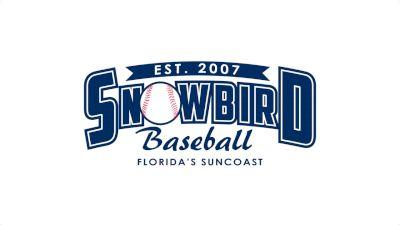 Full Replay - Snowbird Baseball - South County Park 1 - Mar 12, 2020 at 8:45 AM EDT