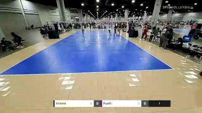 Xtreme vs Push1 - 2021 Mizuno Big South National Qualifier (Courts 1-80)