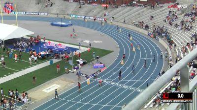 Girls' 4x400m Relay, Final - Age 17-18