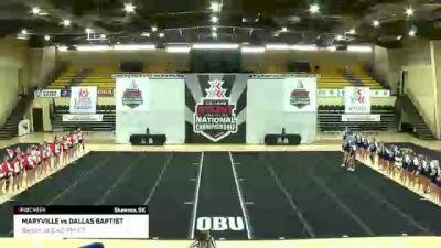 GAME 4: Maryville University vs Dallas Baptist University
