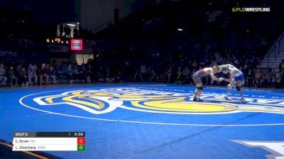 157 lbs Chase Straw, ISU vs Luke Zilverberg , SDSU