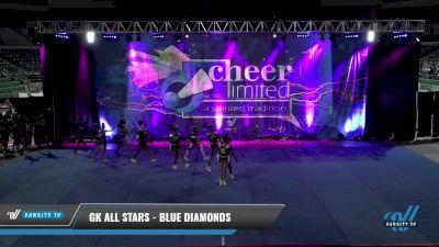 GK All Stars - Blue Diamonds [2021 L2 Junior - Small - B] 2021 Cheer Ltd Open Championship: Trenton