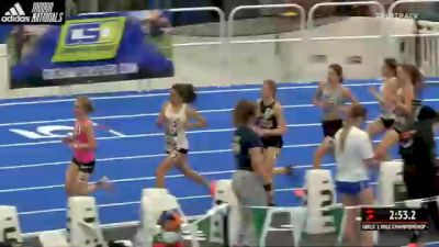 High School Girls' Mile Championship, Finals 1