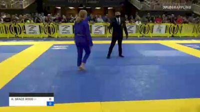 Hayden Grace Rodd vs HELENA AUGUSTA M. BRONZON 2021 Pan Kids Jiu-Jitsu IBJJF Championship