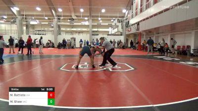 Prelims - Michael Battista, Virginia vs Max Shaw, UNC Unattached