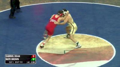 184 Finals - Gabriel Dean, Cornell vs Nate Brown, Lehigh