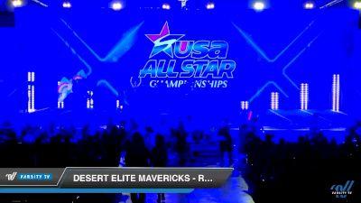 Desert Elite Mavericks - REIGNbow [2019 Senior - D2 2 Day 2] 2019 USA All Star Championships