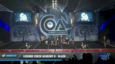 Legends Cheer Academy II - Black Diamonds [2021 L2 Junior - Small Day 1] 2021 COA: Midwest National Championship