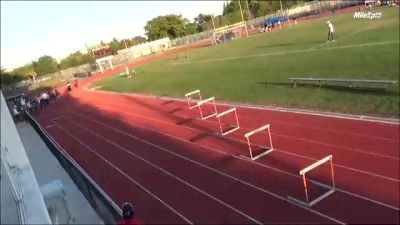 High School Boys' 300m Hurdles, Finals 2