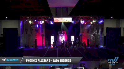 Phoenix Allstars - Lady Legends [2021 L4 Senior - D2 - Small Day 2] 2021 Queen of the Nile: Richmond