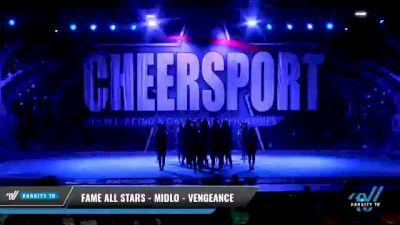 FAME All Stars - Midlo - Vengeance [2021 L6 Senior Coed Open - Large Day 2] 2021 CHEERSPORT National Cheerleading Championship