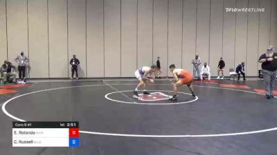57 kg Consolation - Ethan Rotondo, Wisconsin Regional Training Center vs Codi Russell, Blue Ridge RTC