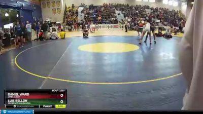 138 lbs Champ. Round 2 - Luis Bellon, Somerset Highschool vs Daniel Ward, CFWA @ LHP