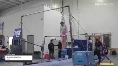Brooklyn Dietrich - Bars, WOGA - 2021 Region 3 Women's Championships