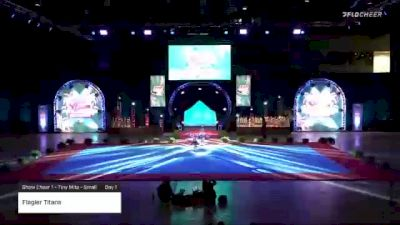 Flagler Titans [2020 Show Cheer 1 - Tiny Mite - Small Day 1] 2020 Pop Warner National Cheer & Dance Championship