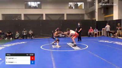 65 kg Prelims - Chance Lamer, Mat Sense Wrestling vs Darren Green, Wyoming Wrestling Reg Training Ctr