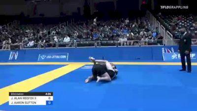 JEFFERY ALAN REDFOX II vs JOSHUA AARON SUTTON 2021 World IBJJF Jiu-Jitsu No-Gi Championship