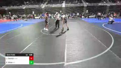 116 lbs Semifinal - Jermaine Dortch, Ready RP vs Ethan Silva, Individual