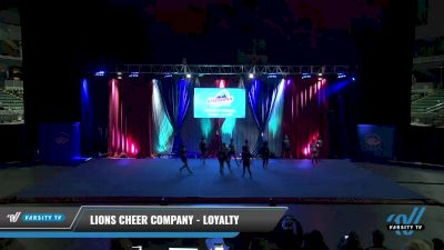 Lions Cheer Company - Loyalty [2021 L4.2 Senior - D2 - Small Day 2] 2021 The American Gateway DI & DII