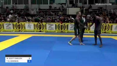 WILLIAM SCOTT ENGLISH vs TIMOTHY Q. GOODWIN 2021 Pan IBJJF Jiu-Jitsu No-Gi Championship