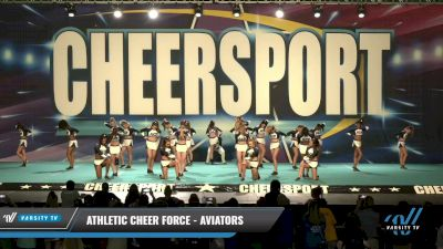 Athletic Cheer Force - Aviators [2021 L4 Senior Coed - D2 Day 1] 2021 CHEERSPORT: Charlotte Grand Championship