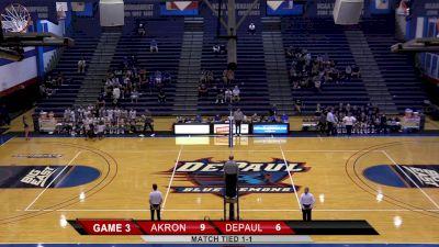 Replay: Akron vs DePaul   Sep 10 @ 8 PM