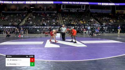 157 lbs Consolation - Anthony Artalona, Penn vs Quincy Monday, Princeton