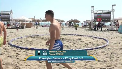 Replay: Mat B - 2021 Katerini Beach Wrestling World Series | Sep 11 @ 11 AM